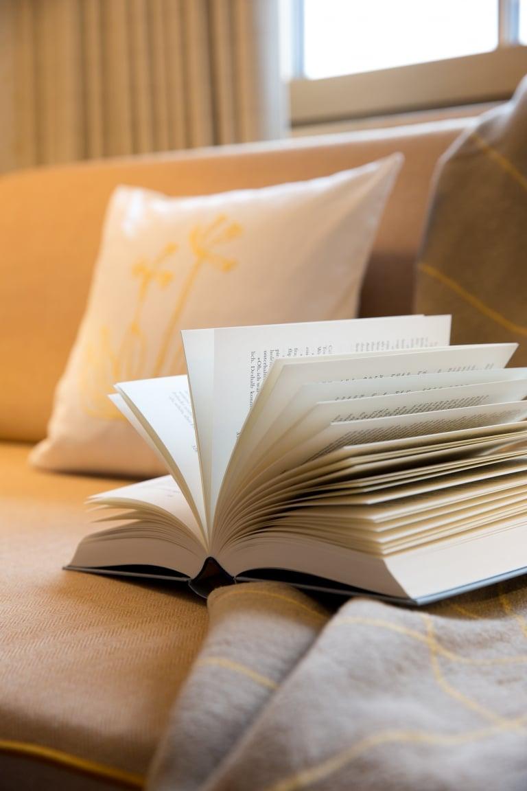 Literatur im 5-Sterne Hotel Sonnenburg Lech