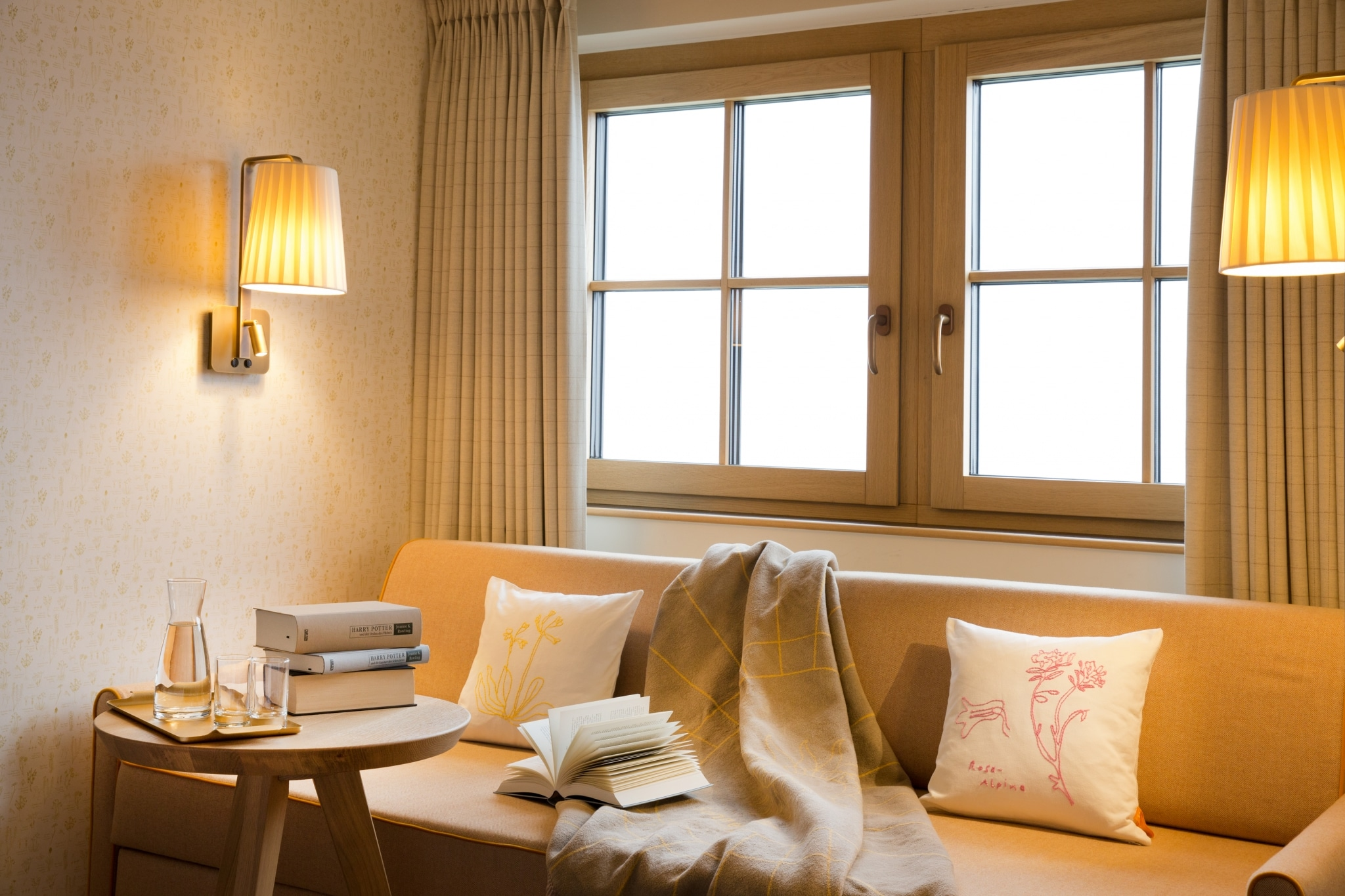 Lesen macht Spaß in einem unserer Literaturhotel Zimmer