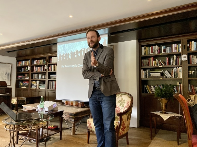 Vortrag von Stefan Köser im Rahmen des Tolkien Festival Oberlech am Arlberg