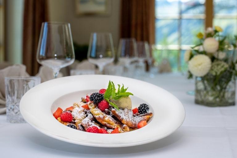 Die Kulinarik im 5-Sterne-Hotel Sonnenburg geht gerne auf Gästewünsche ein