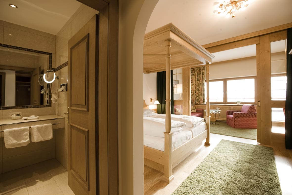 Junior Suite im Hotel Lech Sonnenburg