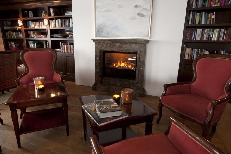 Hotel Bibliothek des Literaturhotel Sonnenburg in Österreich