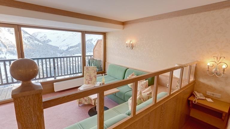 Komfort Doppelzimmer im 4-Sterne Superior Hotel Lech