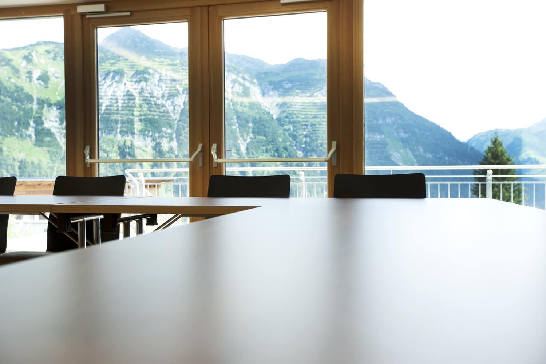 Das Arlberg Tagungshotel Sonnenburg ist die ideale Location für Ihr Symposium, Seminar, Konferenz, Kongress oder Tagung im Sommer