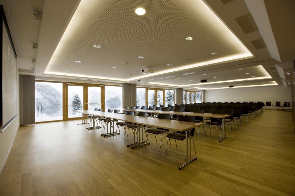 Das Sonnenburg Tagungshotel Oberlech ist der perfekte Veranstaltungsort für Ihren Kongress Arlberg