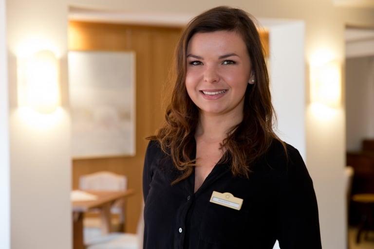Magdalena Vogelauer - Event Assistant im Hotel Sonnenburg