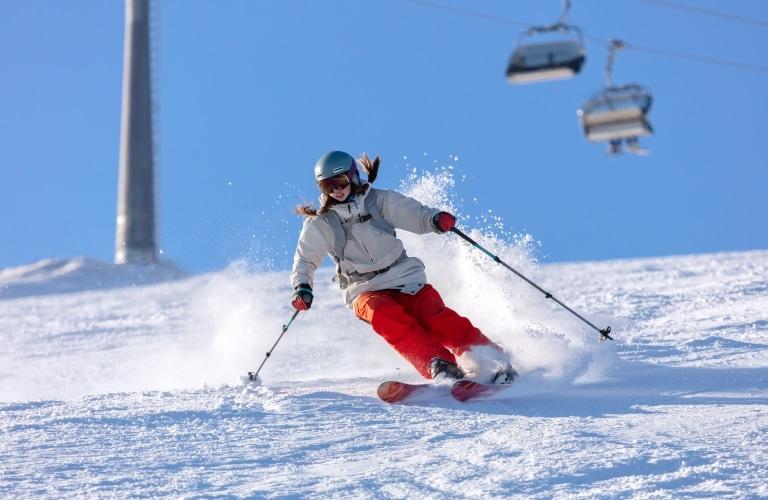 Zahlreiche Pistenkilometer machen Ihren Skiurlaub am Arlberg abwechslungsreich