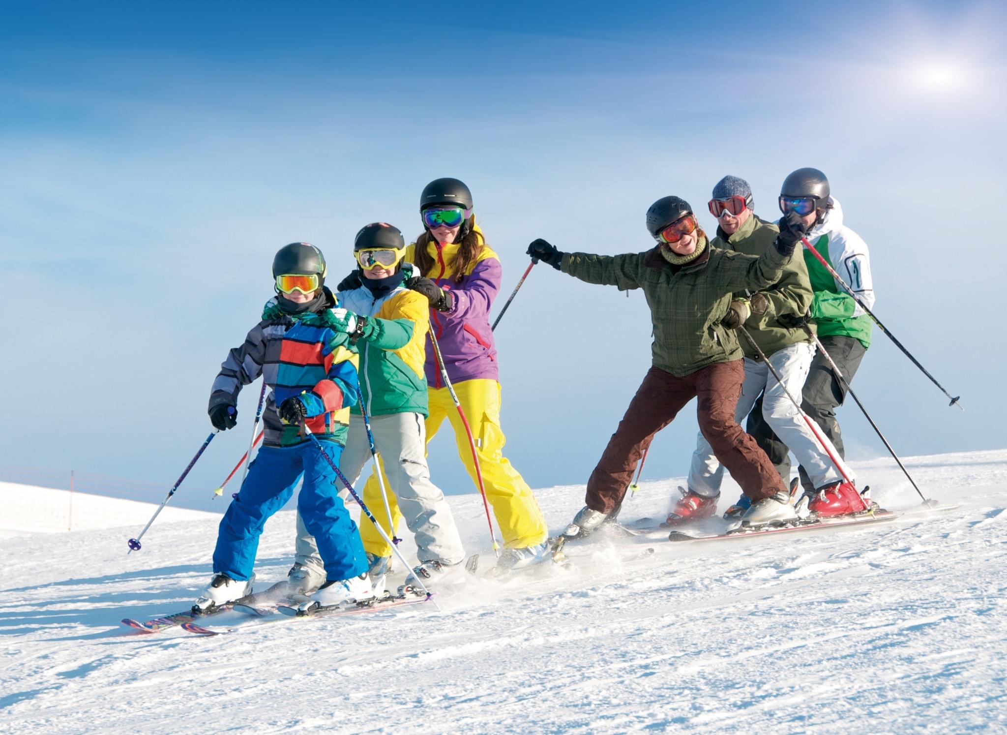 Familien-Skiurlaub am Arlberg