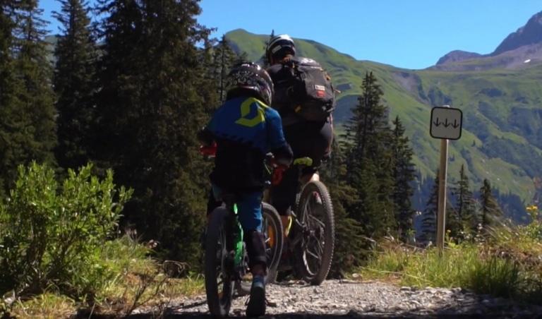 Der Burgwal-Trail in Lech am Arlberg für die ganze Familie