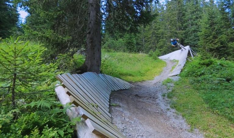Der Burgwal-Trail in Lech am Arlberg - ein Muss für Mountainbike Liebhaber