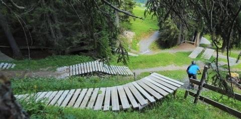 Der Burgwal-Trail in Lech am Arlberg