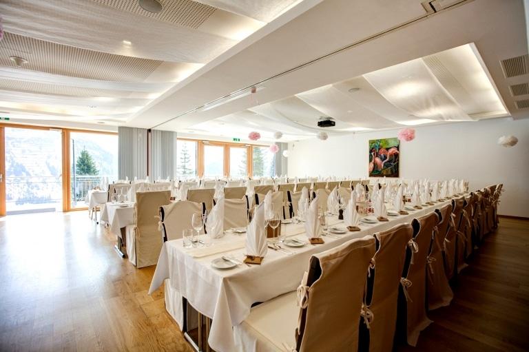 Sonnenburg Hotel Familienfeier in Lech am Arlberg