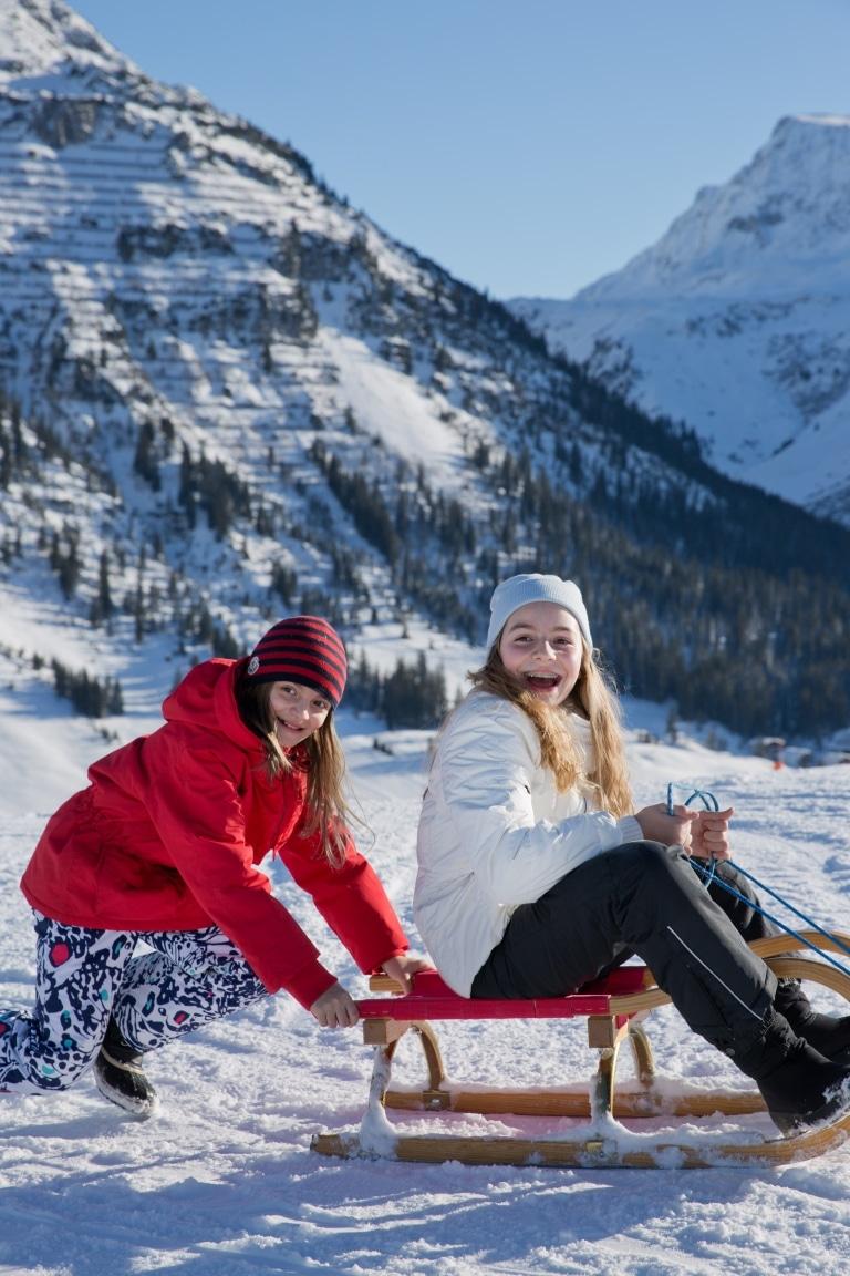 Winterurlaub in Lech für die ganze Familie