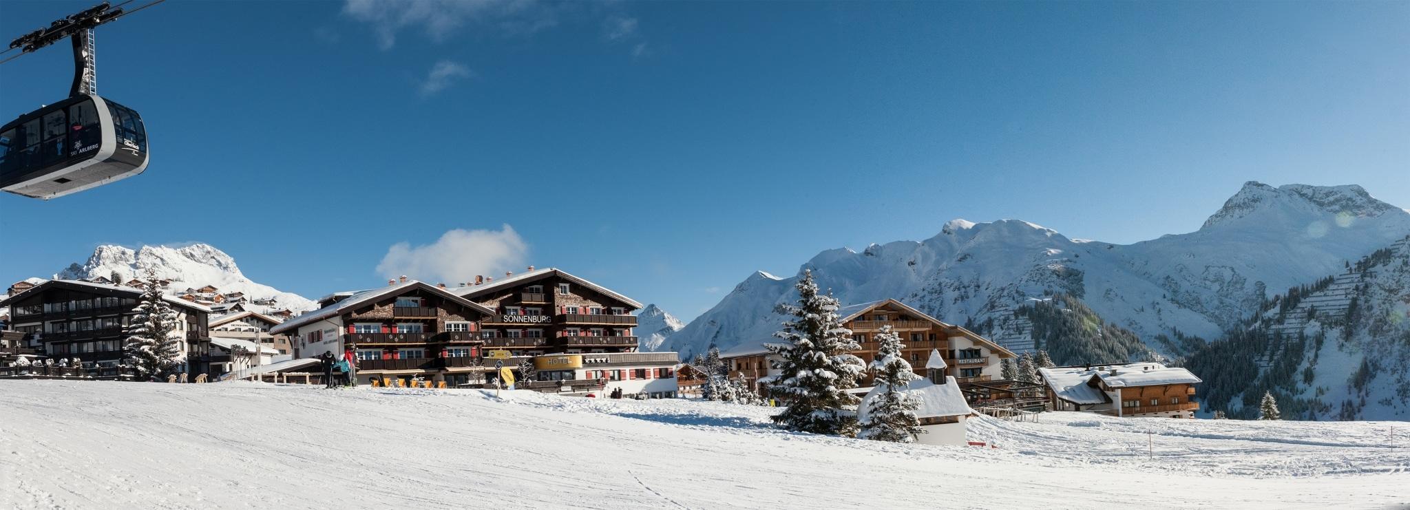 Das Sonnenburg Hotel Lech ist die erste Adresse für Ihren Winterurlaub in Lech