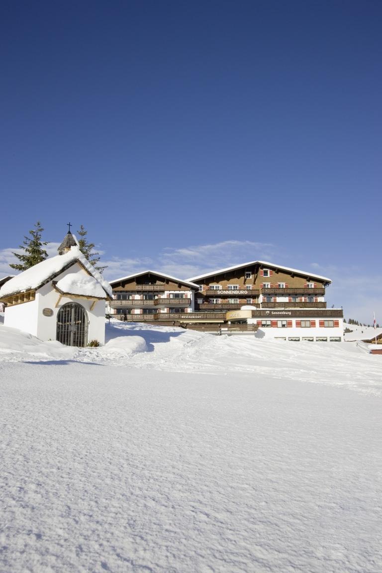 Die Sonnenburg - das Hotel direkt an der Piste in Lech am Arlberg