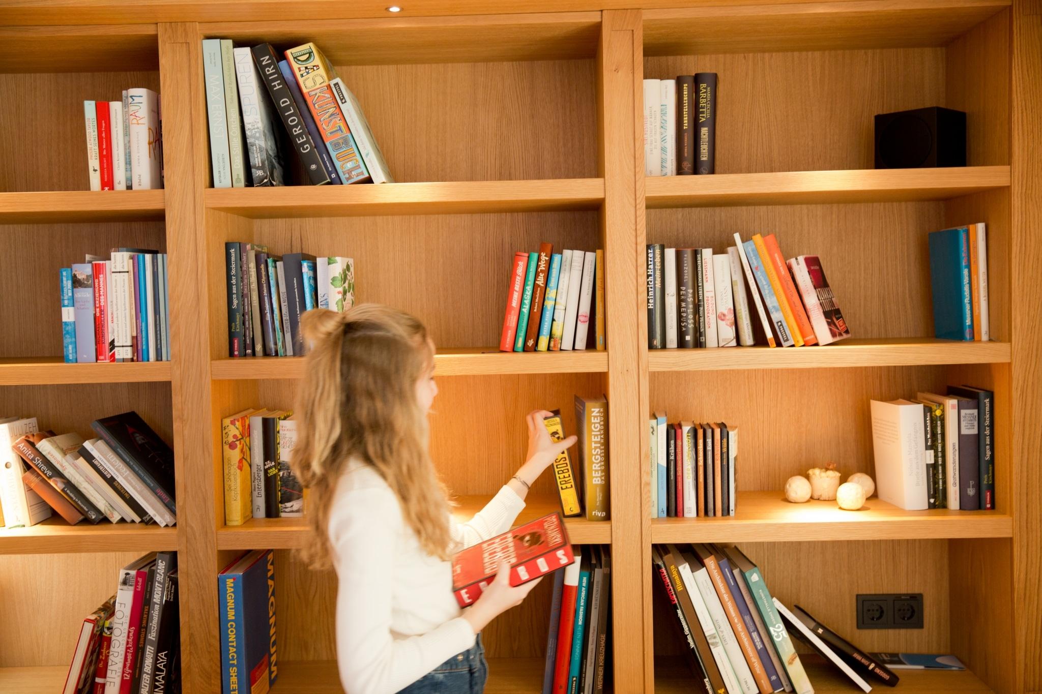 Das Literaturhotel Sonnenburg ist ein einziges Bücherparadies