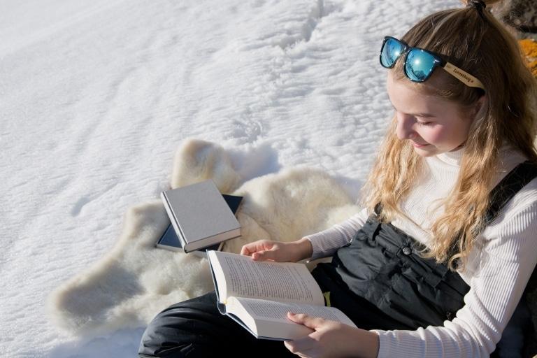 Winterurlaub in den Bergen von Lech