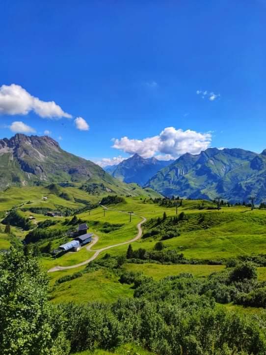 Erklimmen Sie die großen und kleinen Gipfel beim Mountainbiken in Lech am Arlberg