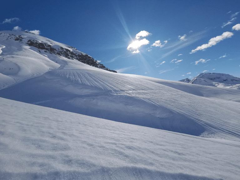 Sonnenskifahren in Ihrem Skiurlaub am Arlberg im Frühling