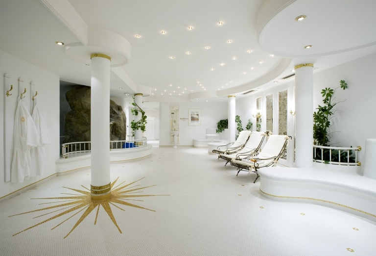Wellnessurlaub im Ruhebereich des Hotel Sonnenburg