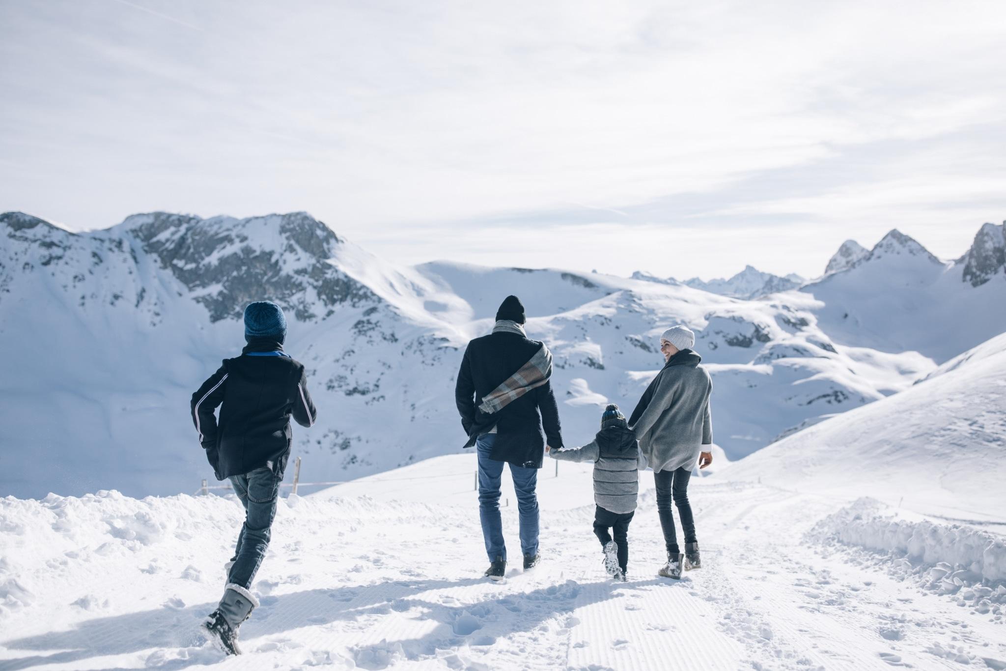 Hinterlassen Sie Ihre Spuren im Schnee beim Winterwandern am Arlberg