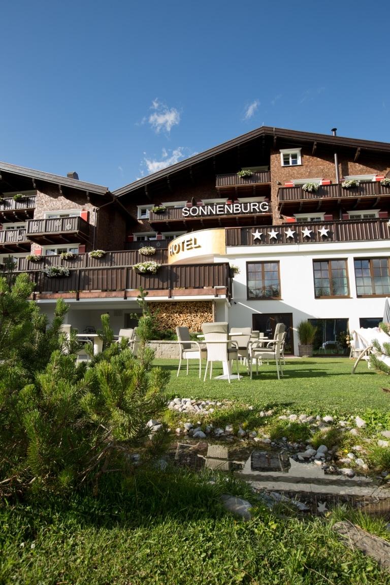 Sommerurlaub am Arlberg im 5-Sterne Hotel Sonnenburg