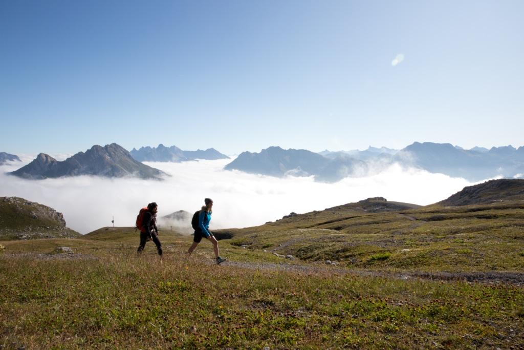 Aktive Tage in den Lecher Bergen