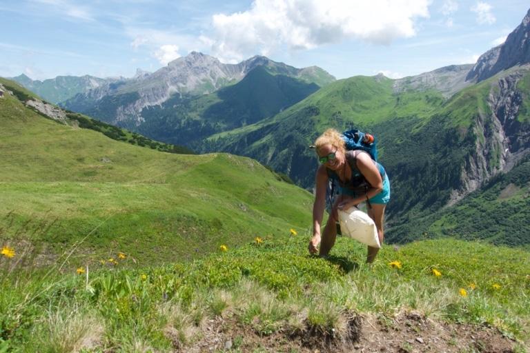 Wanderführerin und Outdoorguide der Sonnenburg Carolin Feigenspan