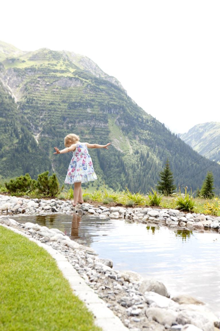 Wandern in Lech - Klein und Groß sind begeistert