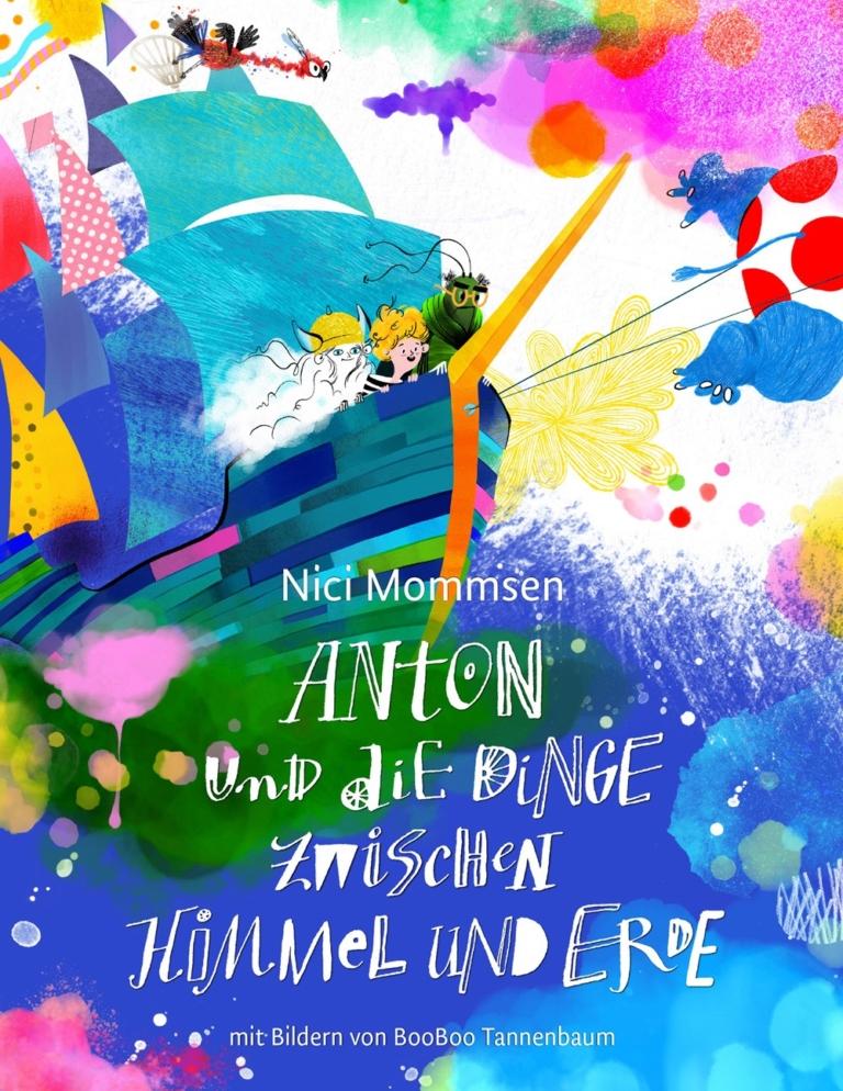 """Nici Mommsen liest im Sonnenburg Literatursalon aus ihrem Kinderbuch """"Anton und die Dinge zwischen Himmel und Erde"""""""