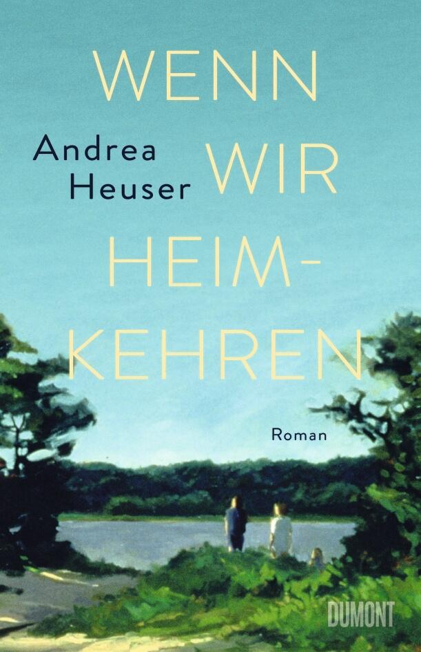 """Lesung im Sonnenburg Literatursalon - Andrea Heuser mit """"Wenn wir heimkehren"""""""