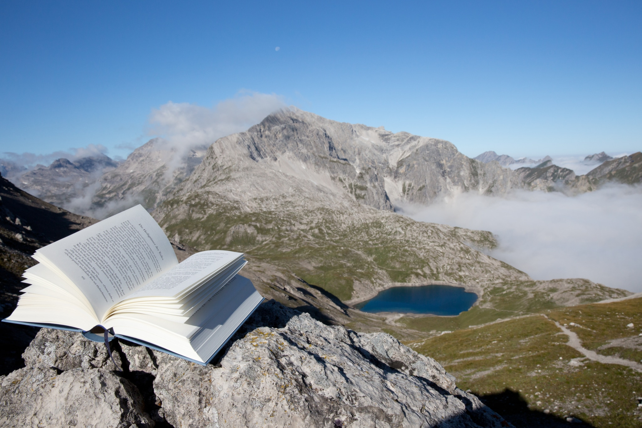 Im Literaturhotel Sonnenburg in den österreichischen Bergen wird Literatur groß geschrieben