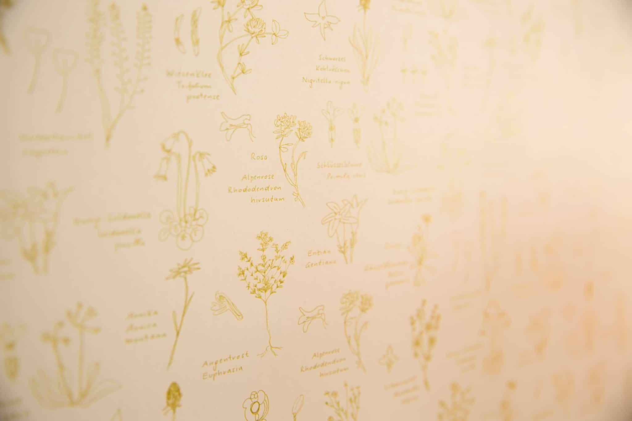 Sonnenburg Tapete - Wo Kunst und Fauna zueinander finden