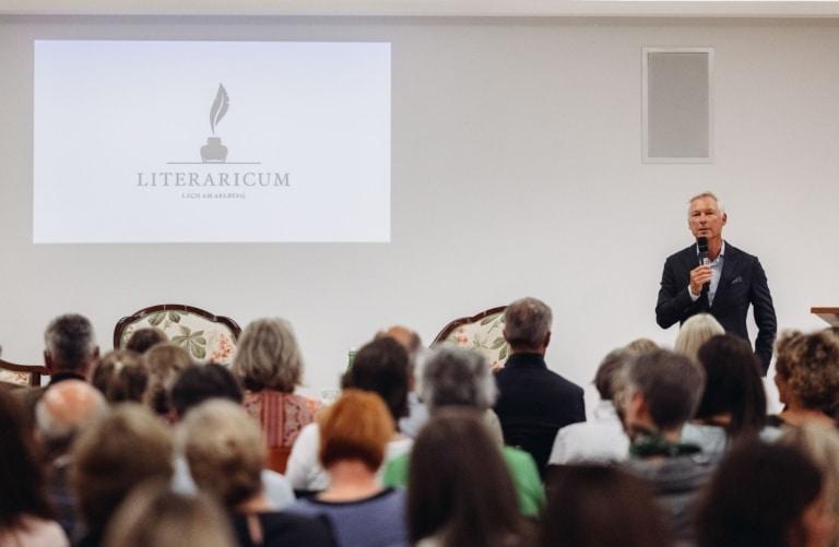 Eröffnungsveranstaltung des Literaturfestival Literaricum Lech